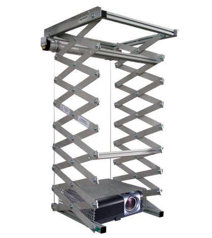 Elevatore motorizzato da controsoffitto per videoproiettore (con discesa maggiore)