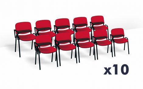 PROMO Pack 10 Sedie con scrittoio Meeting