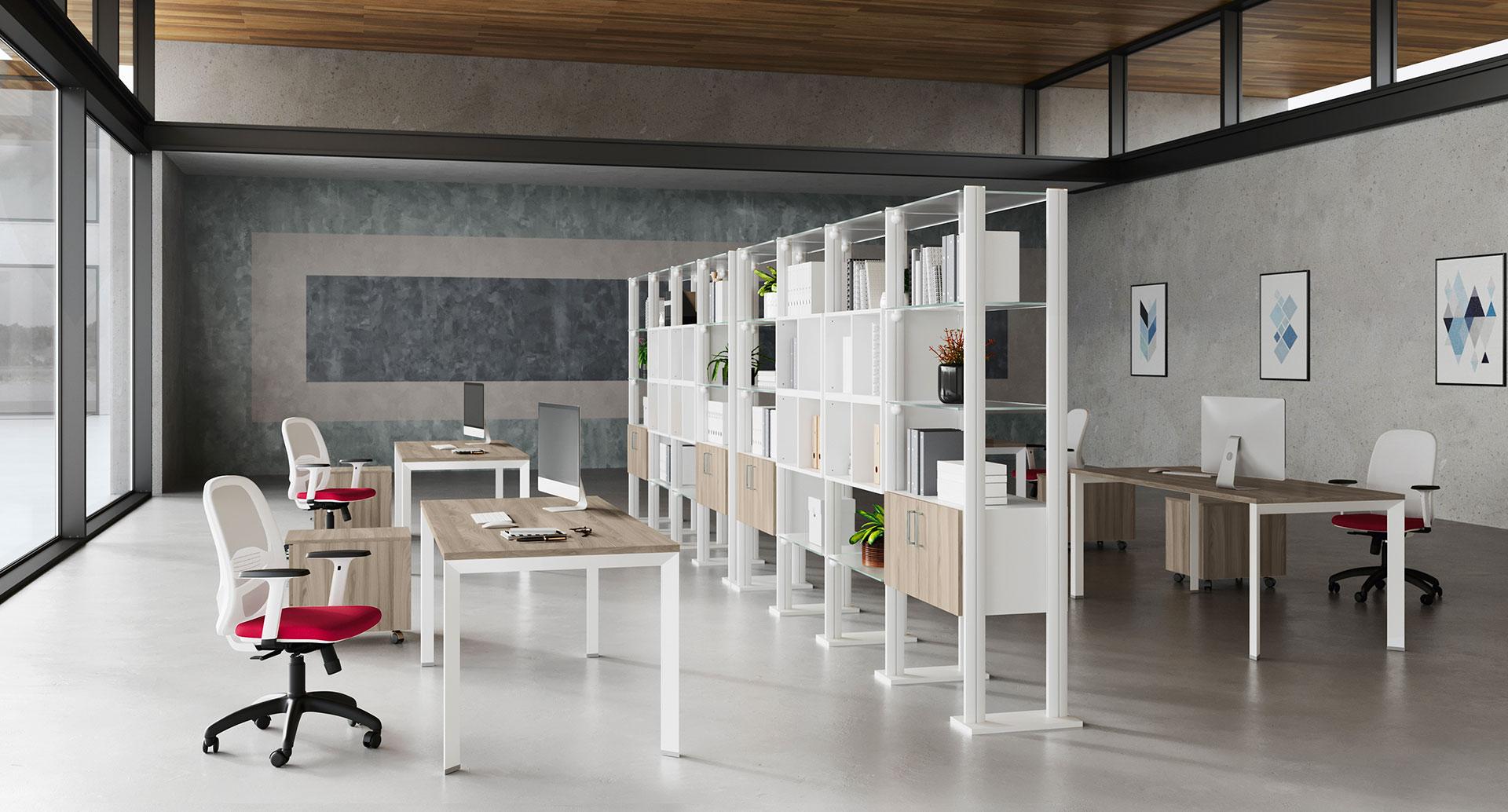 open space e organizzazione degli spazi
