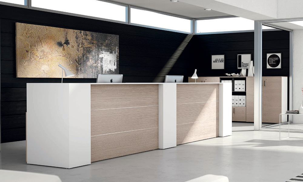 Banconi reception prezzi economici offerta banco desk for Bancone reception ikea