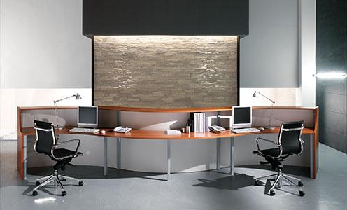 Mobili per ufficio on line economici design casa for Mobile reception ufficio