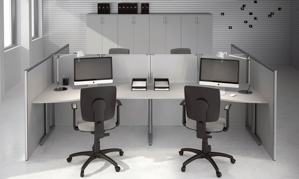Pareti divisorie ufficio prezzi 40 vendita online for Divisori mobili per ufficio