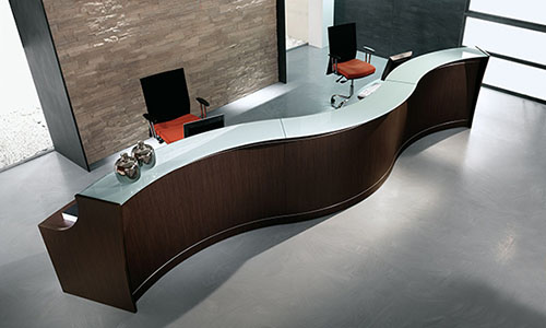Mobili reception ufficio studio hotel vendita online for Mobili per reception