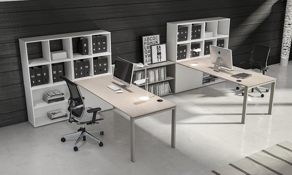 Arredi per uffici operativi e open space, pensati per offrire comfort ...