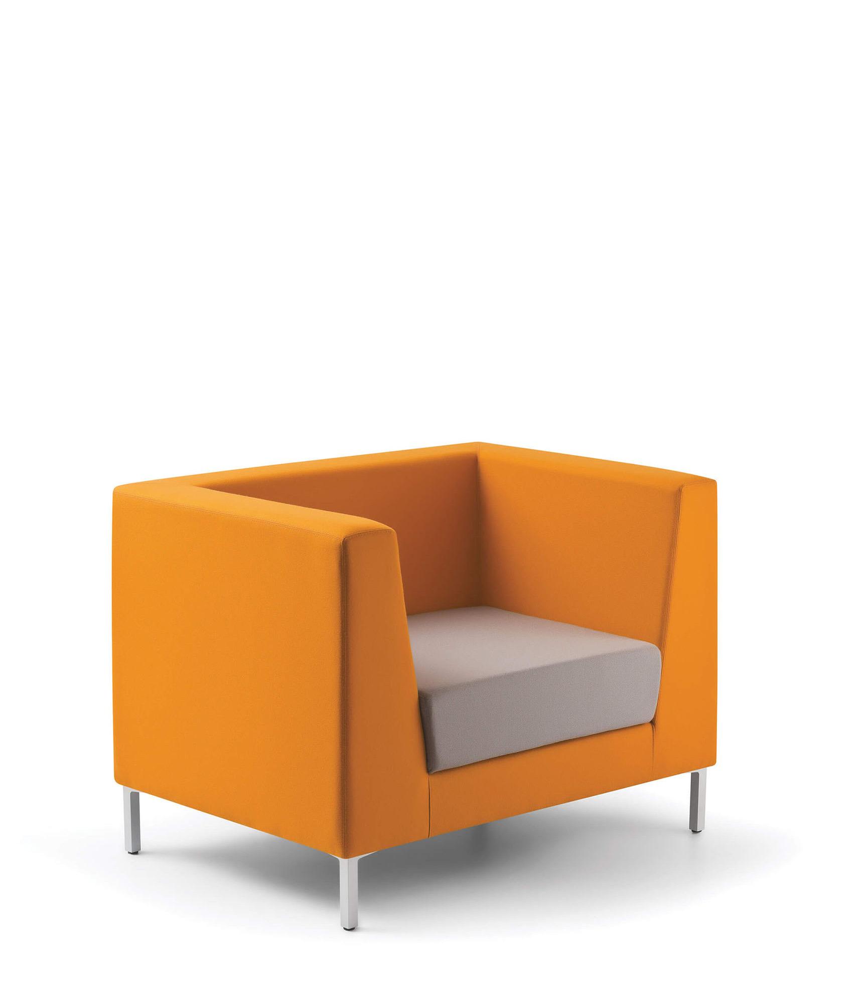 Poltrone attesa e divani ufficio design Lola