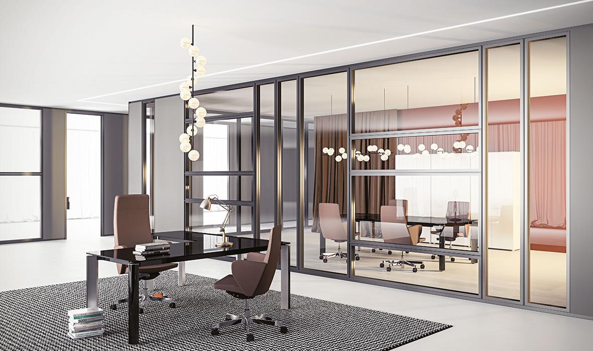 Pareti mobili prezzi facciate continue pavimenti tecnici for Divisori in vetro per ufficio prezzi